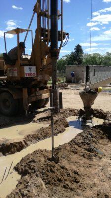 Excavacion pozos de fundacion